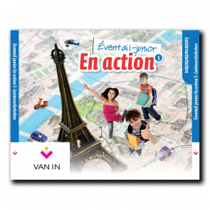 Eventail Junior En action 5 - Audio-cd met luisterteksten (3 cd's)