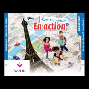 Eventail Junior En action 5 - Audio-cd met luisterteksten (3 cd's)
