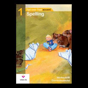 TvT accent - Spelling 1 - werkschrift correctiesleutel