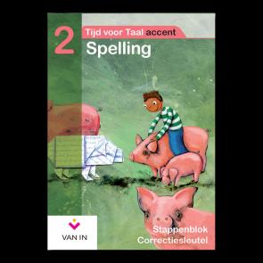 TvT accent - Spelling 2 - stappenblok correctiesleutel
