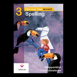 TvT accent - Spelling 3 - stappenblok correctiesleutel
