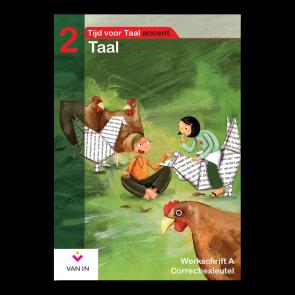 TvT accent - Taal 2 - werkschrift a correctiesleutel