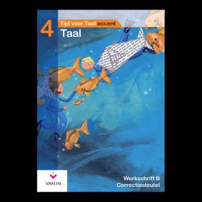 TvT accent - Taal 4 - werkschrift b correctiesleutel