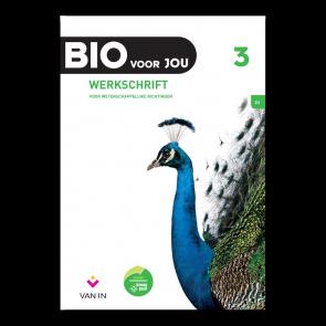 BIO voor JOU 3 - leerplan 2012 Werkschrift wetenschappelijke richtingen