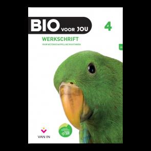 BIO voor JOU 4 - leerplan 2012 Werkschrift wetenschappelijke richtingen