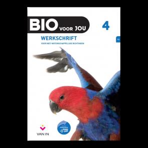 BIO voor JOU 4 - leerplan 2012 Werkschrift niet-wetenschappelijke richtingen