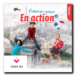 Eventail Junior En action 6 - Audio-cd met chansons (2 cd's)