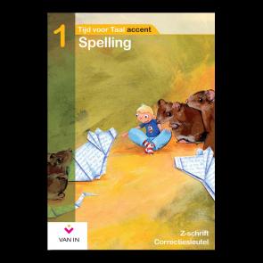 TvT accent - Spelling 1 - zorgschrift correctiesleutel