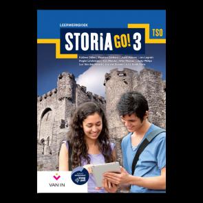 STORIA GO! 3 tso Leerwerkboek (incl. tijdlijn)