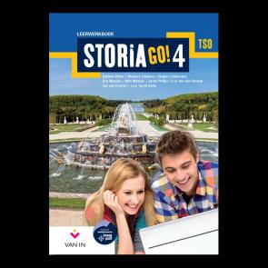 STORIA GO! 4 tso Leerwerkboek (incl. tijdlijn)
