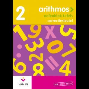 Arithmos tafels 2 herwerkt - sleutel