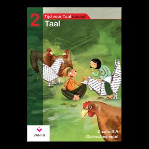 TvT accent - Taal 2 - zorgschrift a correctiesleutel