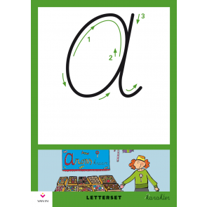 Karakter 2-4 Letterset - hoofdletters