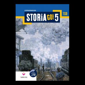 STORIA GO! 5 tso Leerwerkboek (incl. tijdlijn)