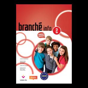 Branché 2 Info - Edition Révisée Ateliers Info - leerwerkboek