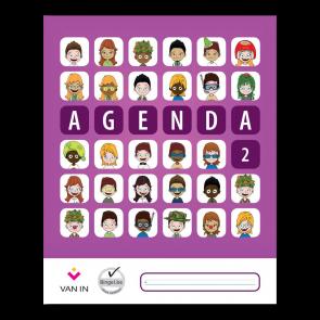 Agenda leerjaar 2 (staand formaat)