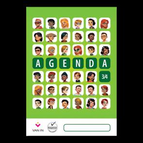 Agenda leerjaar 3 en 4 (staand formaat)
