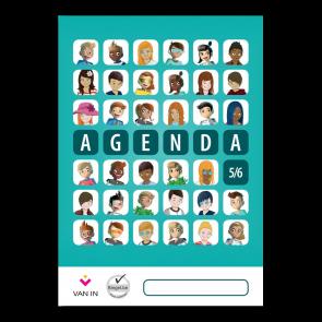 Agenda leerjaar 5 en 6 (staand formaat)