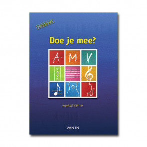 Doe je mee AMV ? vernieuwd 1 -  werkschrift a,b inclusief cd - Pack