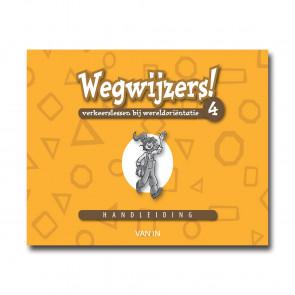 Wegwijzers! 4 - handleiding (incl.verkeers-CD-rom) - Pack