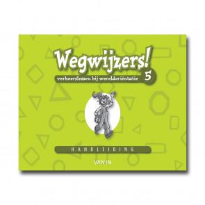 Wegwijzers! 5 - handleiding (incl.verkeers-CD-rom) - Pack