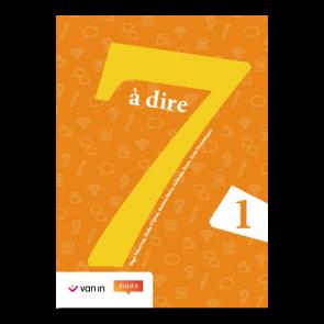 7 à dire 1 Leerwerkboek