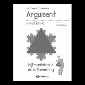 Argument 4 Handleiding bij basisboek en uitbreiding