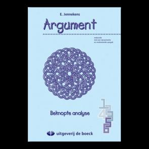 Argument 5-6 Leerboek beknopte analyse