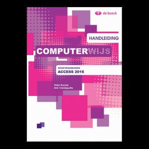 Computerwijs Handleiding Access 2016