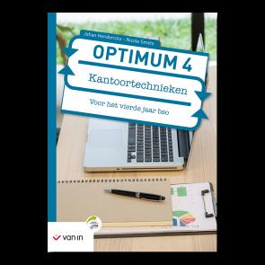 Optimum Kantoortechnieken 4 bso - Leerwerkboek (editie 2019)