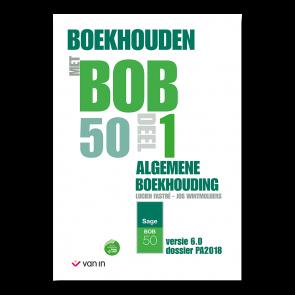Boekhouden met Bob 50 deel 1 - leerwerkboek editie 2019