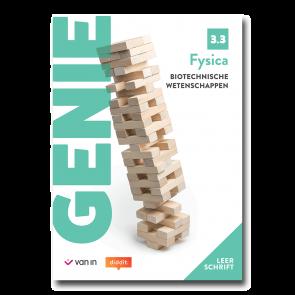 Genie Fysica 3.3 - biotechnische wetenschappen leerschrift