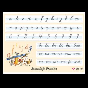 Handschrift D'haese.nu - bankkaartjes