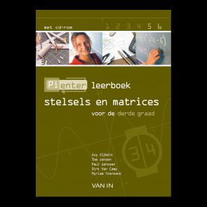 Pienter 5/6 aso Leerboek Stelsels en matrices (3-4u)