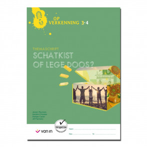 Op verkenning 3 - schatkist of lege doos - themaschrift