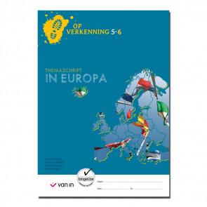 Op verkenning 6 - In Europa themaschrift