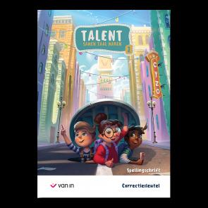 Talent - spellingschrift 2 correctiesleutel