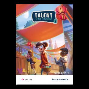 Talent 3 - spellingschrift - correctiesleutel