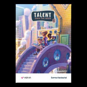 Talent 5 - spellingschrift - correctiesleutel