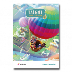 Talent - taalschrift 2B correctiesleutel