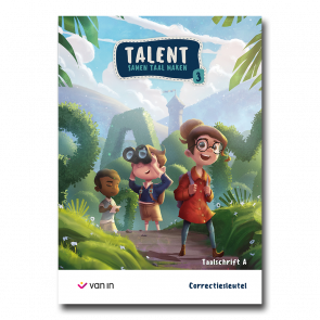 Talent - taalschrift 3A correctiesleutel