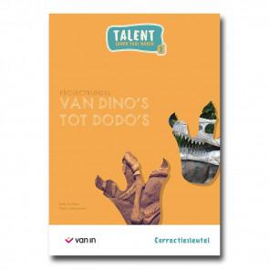 Talent 2 - projectbundel 3 - Van dino's tot dodo's - correctiesleutel