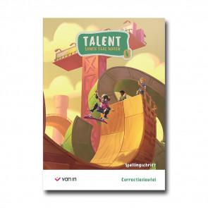 Talent 4 - spellingschrift - correctiesleutel