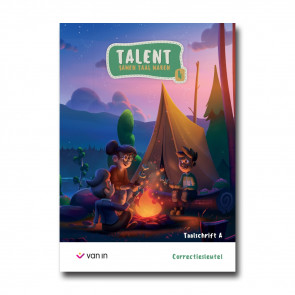 Talent 4 - taalschrift A - correctiesleutel
