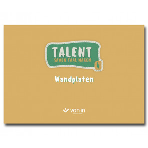 Talent - wandplaten taal 4