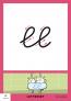 Karakter 1 Letterset - kleine letters