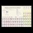 Periodiek systeem van de elementen - (per 5 exemplaren)