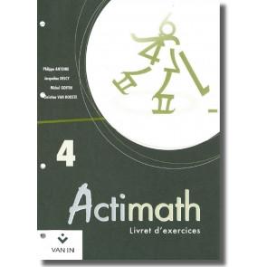 Actimath - 4 - Livret d'exercices (4h)