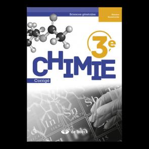 Chimie 3e (sciences générales) - Corrigé