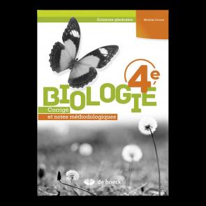 Biologie 4e (Sciences générales) - Corrigé